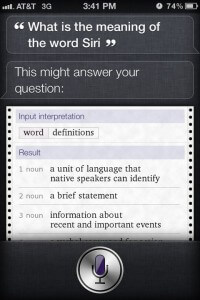 "What Is The Meaning Of The Word ""Siri""? ~ Funny Siri Sayings"